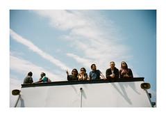 FILM - On the boat back from Liberty Island (fishyfish_arcade) Tags: 35mm analogphotography canonsureshotz135 filmphotography filmisnotdead istillshootfilm kodak newyork portra400 analogcamera compact film