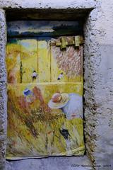 Evviva l'estate (cienne45) Tags: carlonatale cienne45 natale italy liguria valloria imperia dolcedo borgo borgomedievale village medievalvillage painted dipinto disegno artisti door doors tür türen tor tore porte porta portas puerta puertas portecolorate portedipinte painteddoors marioberrino evvivalestate