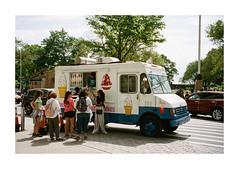 FILM - I scream you scream we all scream for ice-cream (fishyfish_arcade) Tags: 35mm analogphotography canonsureshotz135 filmphotography filmisnotdead istillshootfilm kodak newyork portra400 analogcamera compact film