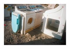outdoor kitchen (jellygeist) Tags: olympusxa olympus kodak kodakportra400 portra400 analog film 35mm 35mmfilm rangefinder