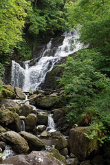 2019-06-07 06-22 Irland 605 Killarney, Muckross Lake Walk, Torc Waterfall (Allie_Caulfield) Tags: foto photo image picture bild flickr high resolution hires jpg jpeg geotagged geo stockphoto cc sony alpha 77 sommer summer irland ireland eire killarney wanderung hike muckross house kerry lough leane lake trail walk wasserfall water fall