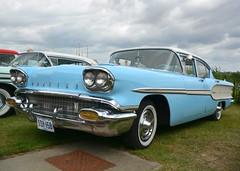 1958 Pontiac Chieftain (Stuart Axe) Tags: car classiccar themaldonmotorshow maldon essex uk england countyofessex unitedkingdom greatbritain maldondistrict pontiac 1958 chieftain pontiacchieftain tsy158 carshow classiccarshow