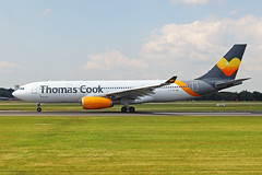 G-TCXD Airbus A330-243 Thomas Cook Airlines UK MAN 07JUL19 (Ken Fielding) Tags: gtcxd airbus a330243 thomascookairlinesuk aircraft airplane airliner jet jetliner widebody aviation