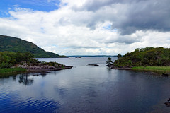 2019-06-07 06-22 Irland 567 Killarney, Muckross Lake Walk (Allie_Caulfield) Tags: foto photo image picture bild flickr high resolution hires jpg jpeg geotagged geo stockphoto cc sony alpha 77 sommer summer irland ireland eire killarney wanderung hike muckross house kerry lough leane lake trail walk beach see strand shore
