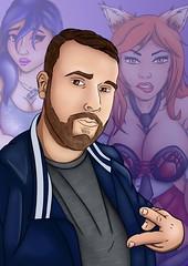 gasFury (Toby0177) Tags: digital photoshop karakter charracter design oc manga tekening portret portriat pose drawing draw sexy cartoon anime