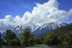 Sunny East Sierra Nevada (samokamoto photography) Tags: sierra snowcap cloudformation