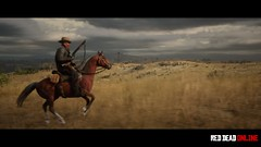 Lone Cowboy | RDR2 (Razed-) Tags: lone cowboy horse overcast clouds red dead redemption 2 rdr2 online rockstar games playstation 4 ps4 pro