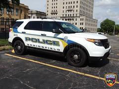 Springfield, Illinois Police (Photographer Asher Heimermann) Tags: illinois police policecar policevehicle policeofficer