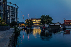 Back to Coal Drops Yard... (PhredKH) Tags: 2470mm afterdark canoneos5dmkiii canonphotography ef2470mmf4lisusm fredkh london londonphotographer nightphotography photosbyphredkh phredkh splendid twilight cityoflondon people bluehour kingscross coalsdropyard pathway reflections buildingstructure architecture londonbynight