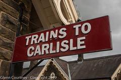 """""""Trains to Carlisle"""" (Glenn Courtney) Tags: settle settlecarlisle england uk unitedkingdom"""