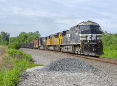 A McKee Moment (andrew.milwee) Tags: norfolksouthern ns sandusky line dash 9 trains railfan railroading crawfordcounty nssanduskyline