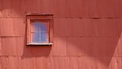 (jtr27) Tags: dscf5983xl jtr27 fuji fujifilm fujinon xe2s xf 50mm f2 f20 rwr wr red barn corrugated metal siding michigan