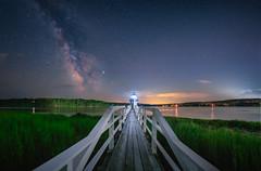 Doubling Point Light Milky Way (elink04) Tags: milkyway astrophotography astro astroscape lighthouse stars longexposure night nightsky nightscape newengland maine ocean panorama light sonyalpha a7s tokina tokinafirin