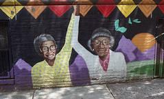 Brooklyn Street Art (neilsonabeel) Tags: nikonfm2 nikon nikkor film analogue streetart mural brooklyn newyorkcity