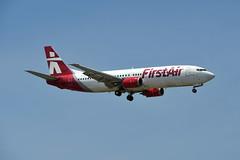 C-FFNM Boeing 737-436 at CYYZ (yyzgvi) Tags: cffnm boeing 737436 bradley air services first cyyz yyz toronto pearson mississauga ontario