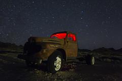 derelict (eb78) Tags: nevada nv rhyolite nightphotography npy longexposure ghosttown lightphotography abandoned decay truck explore
