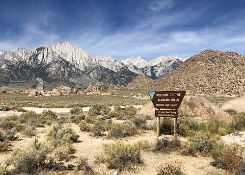 Alabama Hills - Road Trip 2019