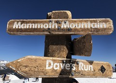 Sign of the Time - Road Trip 2019 (ToGa Wanderings) Tags: highway 395 holiday trip road summer skiing run dave's california elevation feet thousand eleven 11053 sign peak mountain mammoth