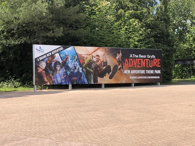 Entrance Plaza billboard 2019
