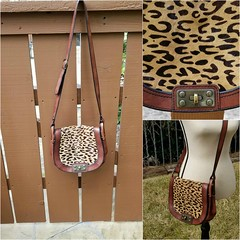 FOSSIL Reissue Crossbody Maddox Vintage Cheetah Calf Hair Brown Leather Handbag (MySkipper) Tags: fossil fossilhandbag reissue crossbody leather calf hair calfhair vintage cheetah love supercute handbag purse