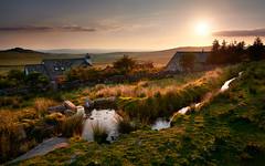 Dartmoor National park Uk (robert demeter) Tags: landscape longexposure light dartmoor sky sunset sun d850