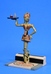 WA-7 action figure by Hasbro (FranMoff) Tags: actionfigures starwars hasbro robot droid diner unicycle wheel waitress attackoftheclones aotc wa7 dexterjettster