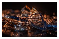 "CAUTION GLASS! _ MM _ ""Danger"" (Werner Demming) Tags: wernerd macromondays danger olympus mft microfourthirds macro makro color farbe zwischenring glasscherben studio tabletop glas glass domiplanf2850mm"
