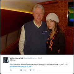 Bill Clinton Lolita Express (If Only You Knew How Bad Things Really Are) Tags: jeffrey epstein bill clinton lolita express