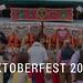 Booth sells gingerbread hearts at German Oktoberfest 2019