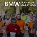Viele Marathonläufer rennen den BMW Frankfurt Marathon