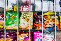 Crackers and small snacks sold at a local convenient store (wuestenigel) Tags: biscuits glass crackers stockphotography closeup chips snacks vibrant reiseblogger grills design noodles display junkfood photography digitalnomad noperson keineperson kind nett merchandise waren graffiti shopping einkaufen stock plastic kunststoff icee eis business geschäft option möglichkeit shop market markt motley bunt candy süsigkeiten bright hell street strase sell verkaufen editorial leitartikel summer sommer traditional traditionell2019 2020 2021 2022 2023 2024 2025 2026 2027 2028 2029 2030