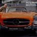 Retro car and original Mercedes 300SL Brabus Classic at the Mobility Fair IAA - The International Motor Show