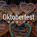 Gingerbread hearts with Bavarian sayings at city festival