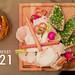 Bayrische Brotzeit auf einem Bierradi-Brettl mit Freiland-Radi und Mini-Brezel, neben dem Titel Oktoberfest 2021