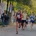 Sportler und Leichtathleten beim RheinEnergie Marathon in Köln