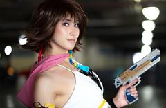 Yuna... (plume-rider (randomly on-line)) Tags: animeexpo laconventioncenter 2019 sony a7ii lightroom yuna finalfantasy