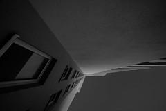 from darkness into the light (rainerralph) Tags: architcture biberach badenwürttemberg liebherrhochhaus fassade dark sw sonyalpha facade sony schwarzweiss blackandwhite a7r3 architektur