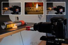 Making of Flammable (Digifred.nl) Tags: macromondays danger digifred 2019 hmm nederland netherlands nikond500 makingof macro macrophotography closeup x gevaarsetiket dangerlabel tealight flammable waxinelichtje brandbaar