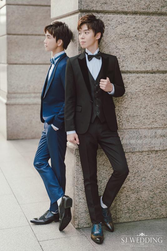 黃氏兄弟,結婚照,婚紗照,同志婚紗,同志婚禮