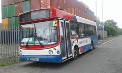 W603  MWJ - Travel West Midlands 3603 - Dennis Dart SLF / Alexander B28F - New 2000 to Connex DA3 (Belmont_21988uk) Tags: northwestvrt kirkby w603mwj travelwestmidlands dennisdart aecswift