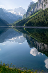 Gossausee in the morning (aamenabar) Tags: landscape paisaje lake water sky morninglight alps dachstein alpen austria