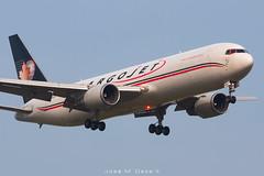 Cargojet B767-306ER BDSF C-GCIJ (José M. Deza) Tags: 20190706 b767306erbdsf bcn boeing cgcij cargojet elprat lebl planespotting spotter aircraft