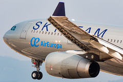 Air Europa A330-243 EC-LQP (José M. Deza) Tags: 20190706 a330243 aireuropa airbus bcn eclqp elprat lebl planespotting skyteam spotter aircraft