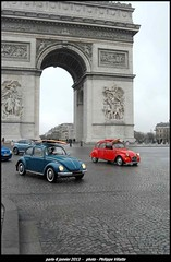 arc de triomphe 6 janvier 2013 web (villatte.philippe) Tags: cox 2cv dedeche paris champs elysée