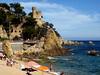 Hiszpania - Katalonia (tomek034 (Thank you for the 2 000 000 visits)) Tags: hiszpania lloretdemar costabrava zamek plaża