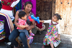 Mother and children (klauslang99) Tags: klauslang streetphotography mother children playing oaxaca mexico person