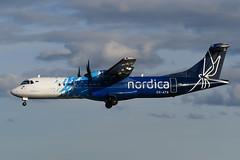 ES-ATA ATR72-600 EGPF 07-07-19 (MarkP51) Tags: esata atr72600 atr72 nordica glasgow airport gla egpf scotland airliner aircraft airplane plane image markp51 planeporn nikon d500 nikonafp70300fx sunshine sunny