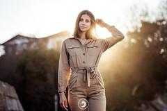 Lou (popz.photographie) Tags: lights sunset socoa beautiful girl modele inspiration paysbasque goldenhour