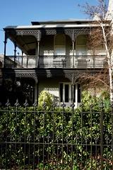 Cast iron lacework verandas, Armadale (Joe Lewit) Tags: variosonnart28163 armadale melbourne terraces streetscape castironlacework