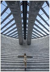 Chiesa di San Giovanni Battist (Aeschbacher Hilde) Tags: chiesadisangiovannibattist kirche sakralbauten architektmariobotta mongo tessin schweiz kuppel kreuz pentaxk1 pentaxart